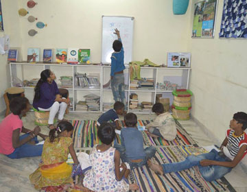 Kutumb is holding a New Learners Class at our Qissgadh Active Library