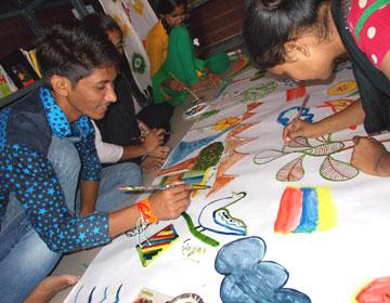 Painting Workshop at Kutumb